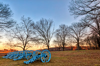 Valley Forge Cannon Twilight