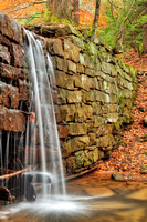 Autumn Dam Waterfall - Cook Forest
