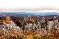 Frosted Autumn Smoky Mountains