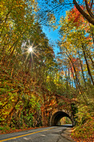 Laurel Creek Sunburst Tunnel