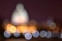 Abstract Bokeh Capitol