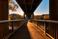 Golden Hour Bridge - James River