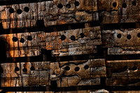 Charred Wood Boxes