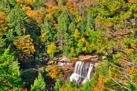 Autumn Blackwater Falls Overlook