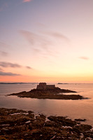 Saint-Malo Twilight Coast