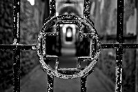 Medical Prison Cross - Black & White