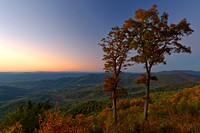Shenandoah Twilight Overlook
