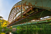 Rusted Sunset Bridge