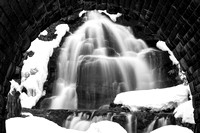 Winter Arch Waterfall