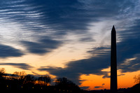 Washington Silhouette Monument