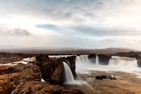 Cloudy Godafoss