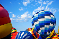 Vibrant Hot Air Balloons